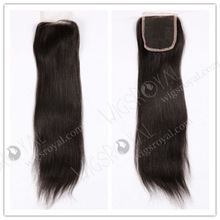 STOCK for immediate delivery cheap remy indian hair Yaki weave top closure