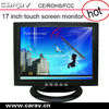 Factory price+good qualiaty 15inch 12V DC input tft touchscreen lcd monitor