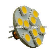 back pins 9led smd5050 g4 led bulb manufacturing