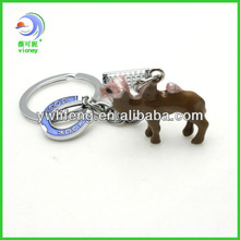 The Pink Camel With Good Luck Shinjuku Tokyo Japan Keychains