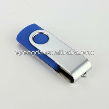 blue promotion swivel usb 2gb,promotional swivel usb flash drive 2gb 4gb,blue swivel bulk 2gb usb flash drives
