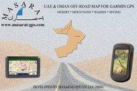 UAE & OMAN OFF-ROAD MAP