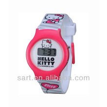 tendy fashion hand wrist watch with cartoon character