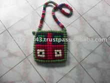 handmade felt bags