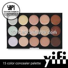 Wholesale 15 color concealer palette skin milk moisturizer