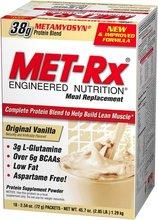 MET-RX bodybuilding food supplement