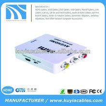 Mini RCA to HDMI Converter 1080P/720P