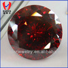 brilliant cut synthetic garnet
