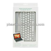 Samsung For Galaxy Tab P7500 Aluminum case Bluetooth Keyboard