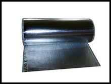 Fiberglass fabric laminated aluminum foil ,heat retaining material
