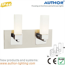 Hotel IP44 Bathroom Wall Light with two lamp