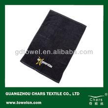 Cotton Promotional Embroidery Logo Face Towel 35*75cm 21S/2 150gram/piece Cotton Custom Sport Towel