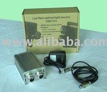 Led optical fiber light emitter