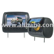 9inch Headrest DVD Player with USB port, SD/MMC/MS port,Game system, IR transmitter,speaker (2V-219HD-A)