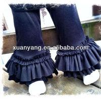New arrival princess loose pants,baby girls cargo pants