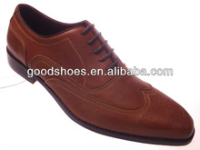 Top selling fashion genuine leather dress shoe for men 2012