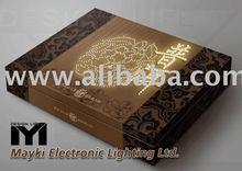 Fiber optic light box