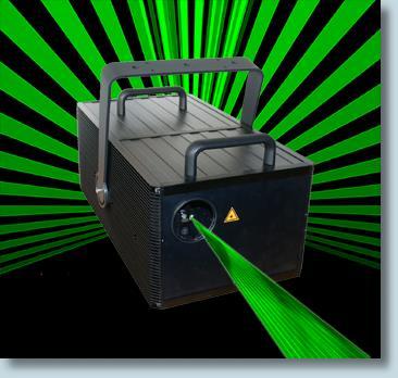 Blitz Laser 5 Watts Dpss