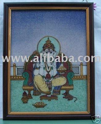 A Ganpati Ganesha Painting,