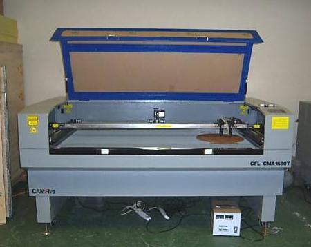 Cortador de laser gravadora machine camfive 2 x 70w grande área