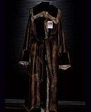 Plucked Nutria Nappa Coat