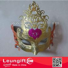 Italian venetian tope grade handmade plastic party mask