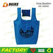 Cheap Reusable Eco OEM Custom Nylon handle bag for shopping DK-NZ063