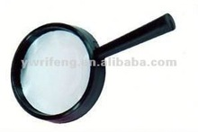 2014 China cheapest 25mm plastic magnifying glass led headband magnifier