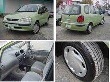 1999 Used car TOYOTA COROLLA SPACIO V PACKAGE/Compact car/RHD/44700km/Gas/Petrol/Green