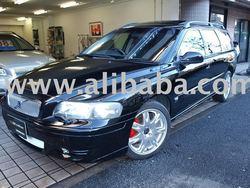 2001 Used car Volvo V70 style R/Wagon/RHD/75000km/Gas/Petrol/Black