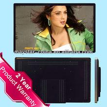 """Lowest price 2 year warranty 32"""" hd multimidea wall information kiosk for indian market"""