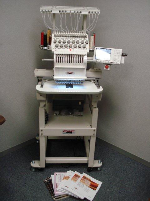 Clean 2005 SWF E-T1501C - 15 needle, single head machine