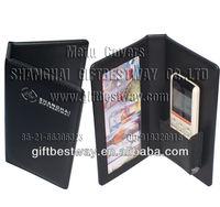 menu clip,hotel menu,mat,leather remote control holder