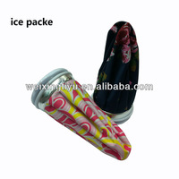 "6""high gel ice pack ice bag"