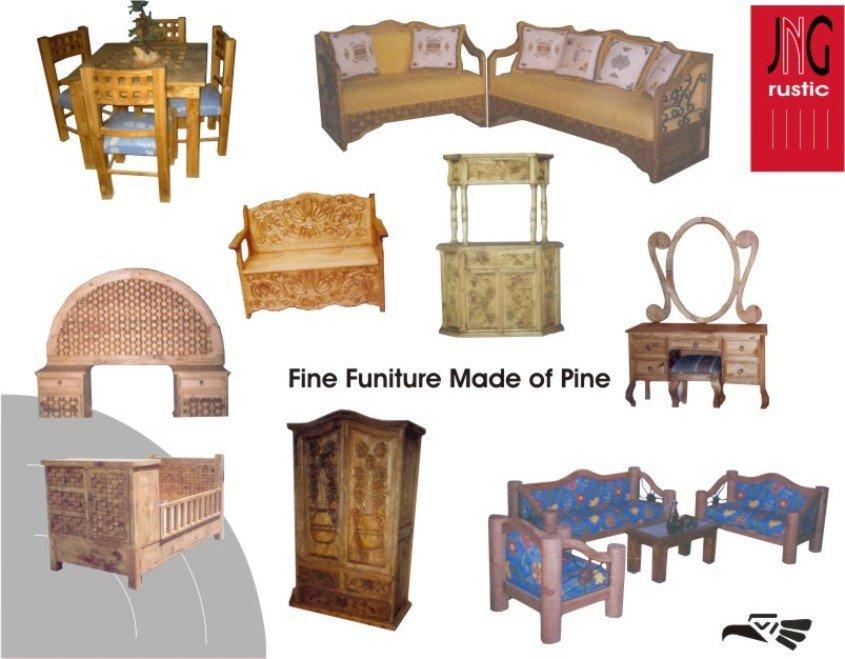 Mexicano muebles r sticos mobiliario otros identificaci n - Muebles rustico mexicano ...