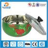 wholesale stainless steel decorative salad bowl,fruit bowl