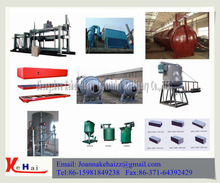 Autoclaved Aerated Concrete Block Making Machine/AAC Production Line For Sale