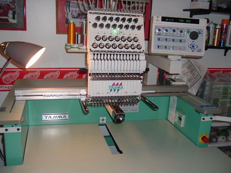 Tajima TEHX C1501 Embroidery machine For Sale