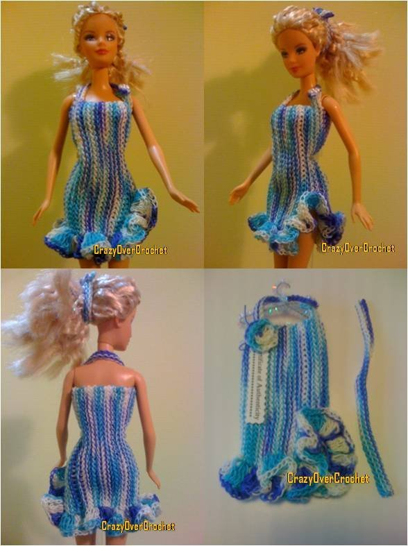 Fashion Doll Crochet Patterns Free Free doll clothes crochet