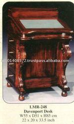 Davenport Desk Mahogany Indoor Furniture.