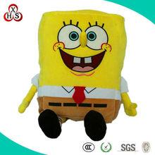lovely soft sponge bob toy bag