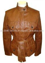 Leather Fashion Coat