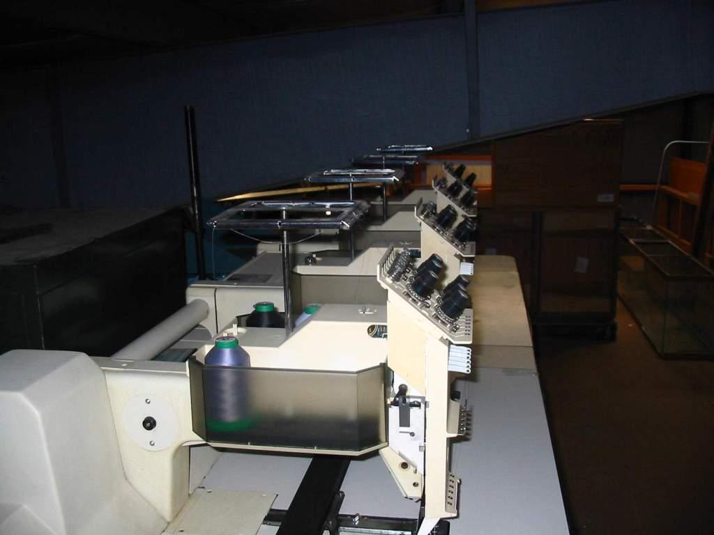 Melco Amaya Bravo 16 Needle Hoop Embroidery Machine