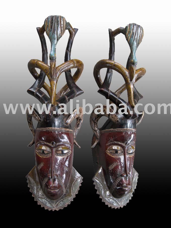 tribal art masks. MASK GOURO AFRICAN ART
