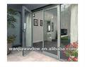 bajo costo de aluminio de doble hoja de la puerta
