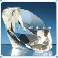 Large Size Transparent Crystal Diamond For Sales Promotion