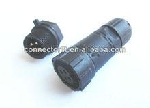 IP68 LED Outdoor Lighting Waterproof Connector M14
