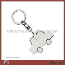 Clear Car Acrylic Plastic Key Chain with Printing Logo