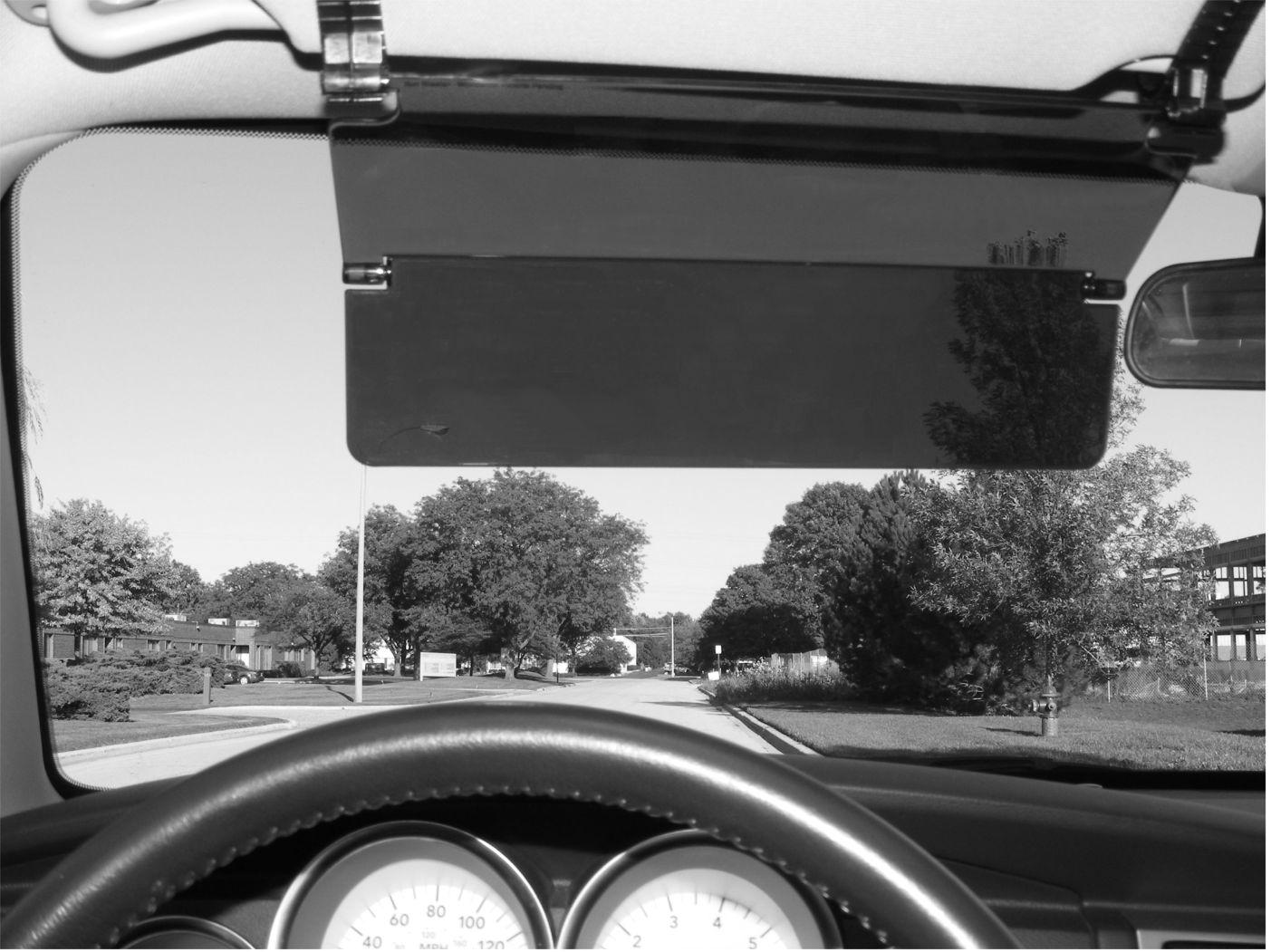 Car Sun Visor