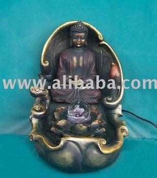 Chinese Buddha Fountain